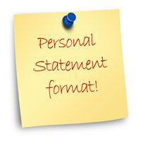 personal essay admissions