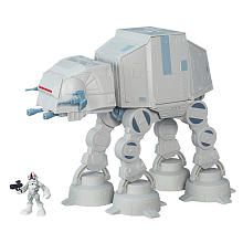 Playskool Heroes Galactic Heroes Star Wars ATAT Walker  Kieran would love this! Toys R Us has the best price.