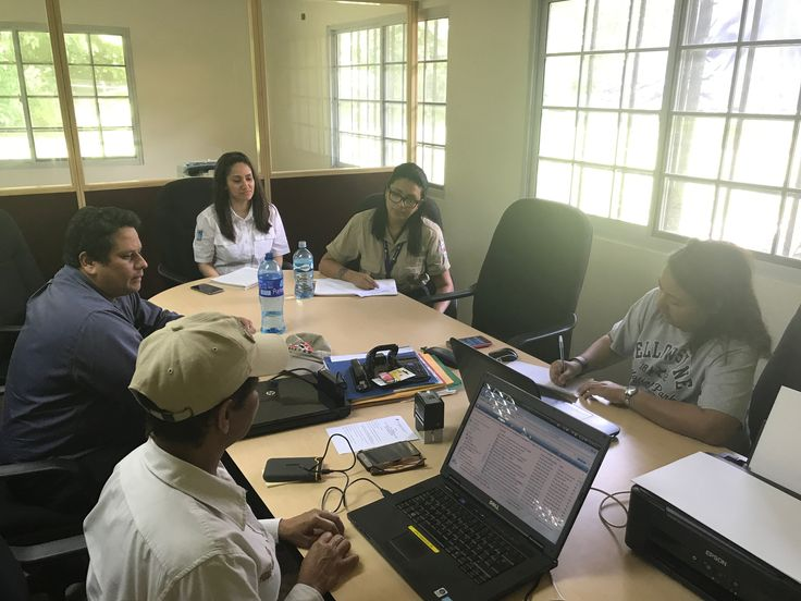 Meeting with staff of ECOTUR-AP and Headquarters of the Chagres National Park and Public Use in offices of the Visitors Center of this AP during Advisory for the Implementation of 5 Business Plans in 3 Protected Areas (PN Chagres, PN Sovereignty and PN Bell, June - November, 2017), Panama