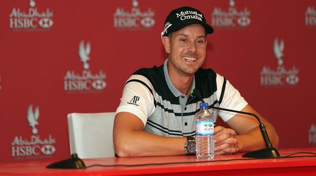 Stenson hoping to add a Falcon to his ever increasing trophy cabinet #abudhabi #golf #stenson #uae