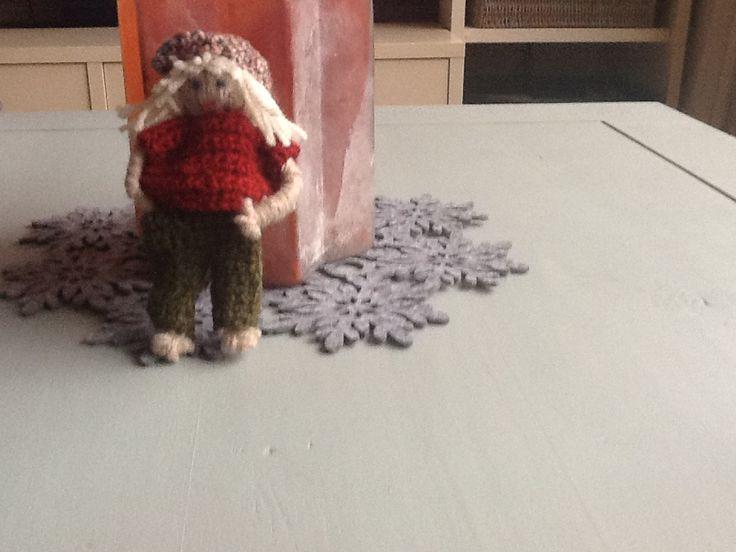 Gemaakt van restjes wol