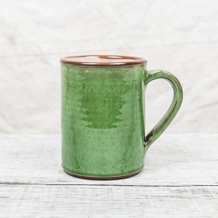 Tender Coffee Mug Green Glaze