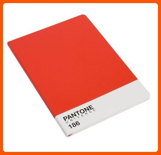 Pantone Universe Notebook A4 Ketchup Red 186C - Fun stuff and gift ideas (*Amazon Partner-Link)