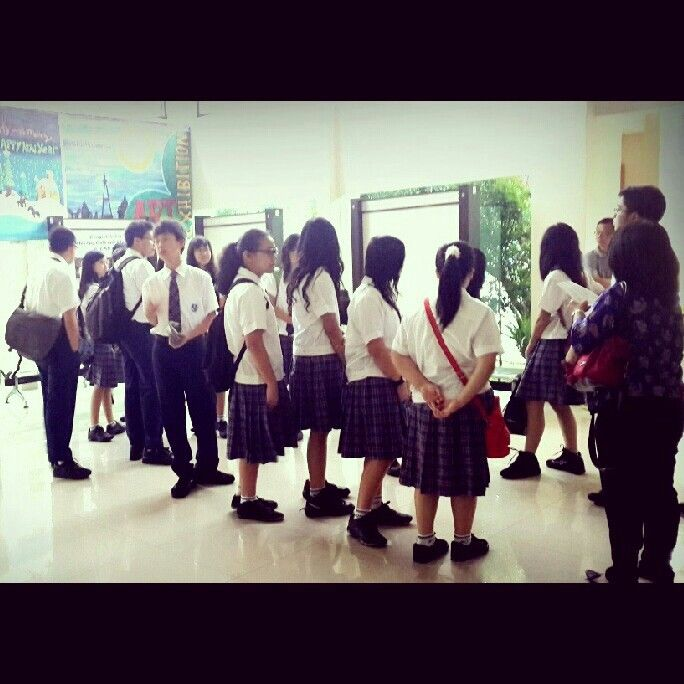 English competition at school