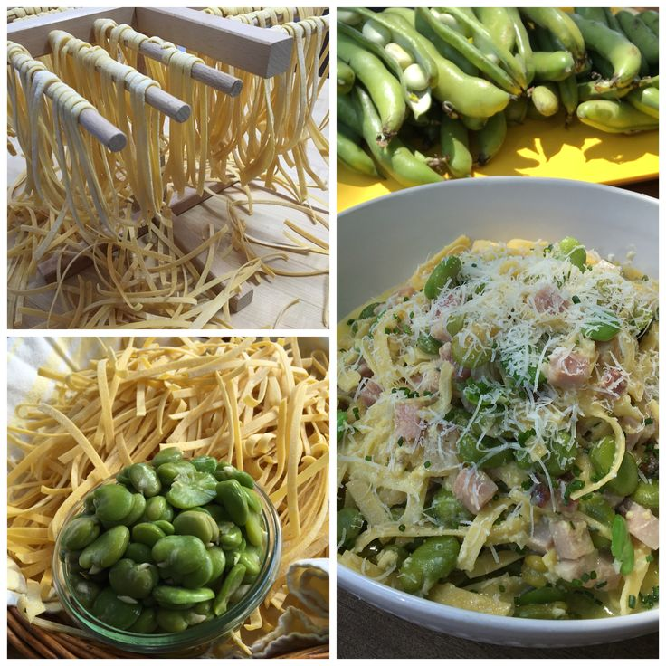 Carbonara aux fèves et prosciutto // Prosciutto and Broad Bean Carbonara