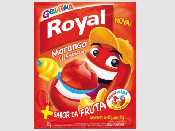 """Quem nasceu na década de 80 ou 90 vai se lembrar facilmente do jingle """"Abra a boca, é Royal!"""", das gelatinas da marca. Veiculado pela primeira vez em 1988, o comercial ainda não contava com a ilustre presença do personagem Bocão."""