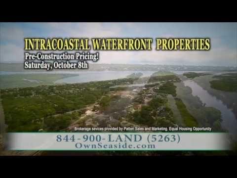 #RealEstate | Seaside Landings FL Intracoastal Property. Call 844-900-5263