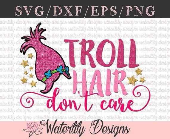 Troll Hair, Don't Care Cut File