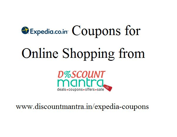 Get up to 50% off when flying within cities in India or abroad by using Expedia coupon codes and Expedia discounts from Discount Mantra on booking your flight tickets and hotels, and make your vacations pocket-friendly and enjoyable.