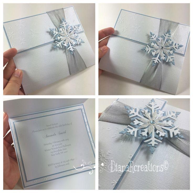 Best 25 Winter wedding invitations ideas on Pinterest Christmas