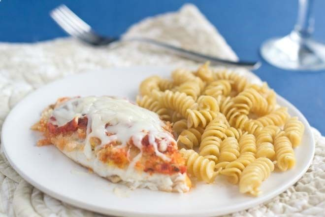 Fish Parmesan: A classic recipe made with fish instead of chicken. You can even make this one using frozen fish fillets straight from the freezer