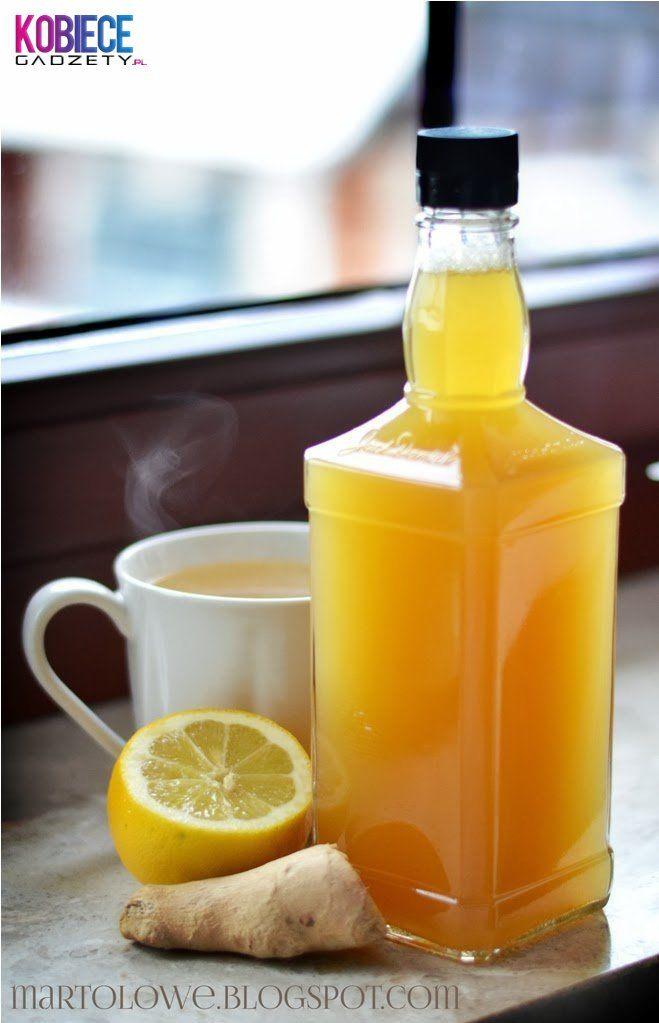 SYROP IMBIROWO-MIODOWY....Idealny na przeziębienie!