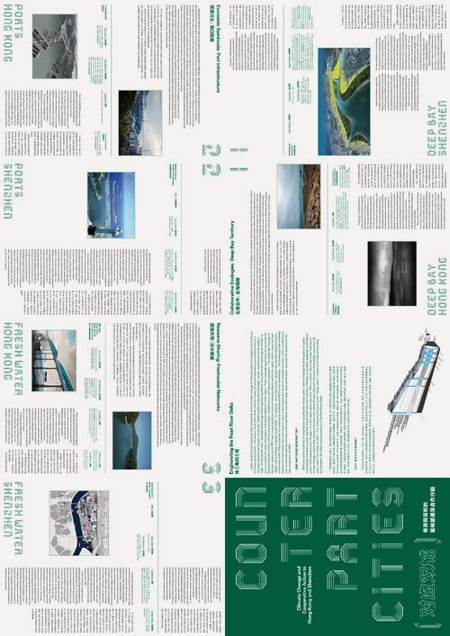milkxhake – Counterpart Cities: Climate Change and Cooperative Action in Hong Kong and Shenzhen - Exhibition Poster (2011-2012)