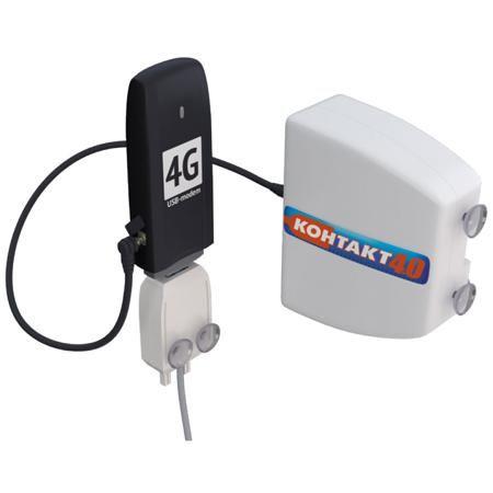 Ремо Контакт 4.0  — 809 руб. —  Антенна 4G «Контакт 4.0» предназначена для работы совместно с USB-модемами, имеющими разъем CRC9 для подключения внешней антенны и работающими в сотовых сетях третьего (UMTS/WCDMA/HSDPA/HSUPA) и четвертого (LTE) поколений. Устройство позволяет повысить скорость передачи данных, увеличить дальность работы и улучшить стабильность соединения.