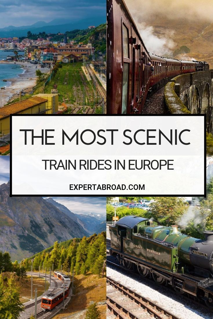 Scenic Trains in Europe | Scenic train rides, Europe travel, Europe train