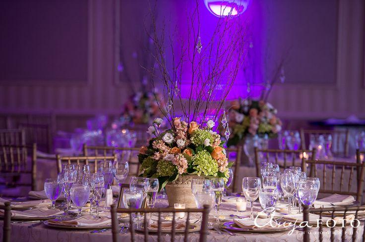 NJ Wedding photographer || AnyaFoto || wedding center piece