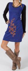 Robe courte à manches longues Ethnique et Colorée Radia en vente sur www.akoustik-online.com avec d'autres centaines de nouveautés.