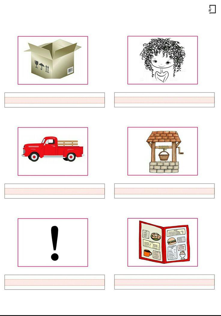 1. Sınıf Okuma Yazma Çalışmaları (2. Grup Sesler Resimli Dikte Çalışmaları )