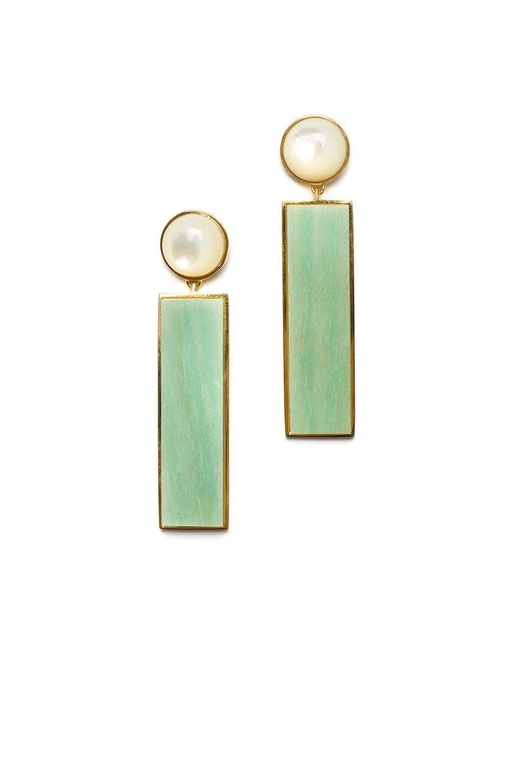 Rent Regal Column Earrings by Lizzie Fortunato
