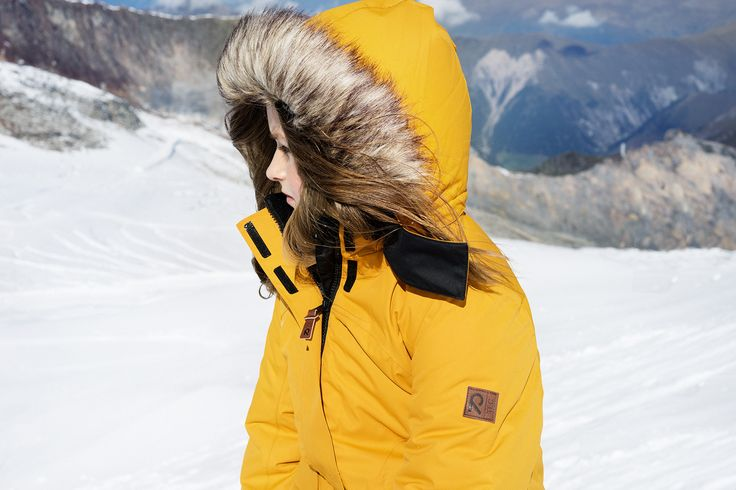 "Block the cold wind with Reima's ""Sisarus"" jacket."