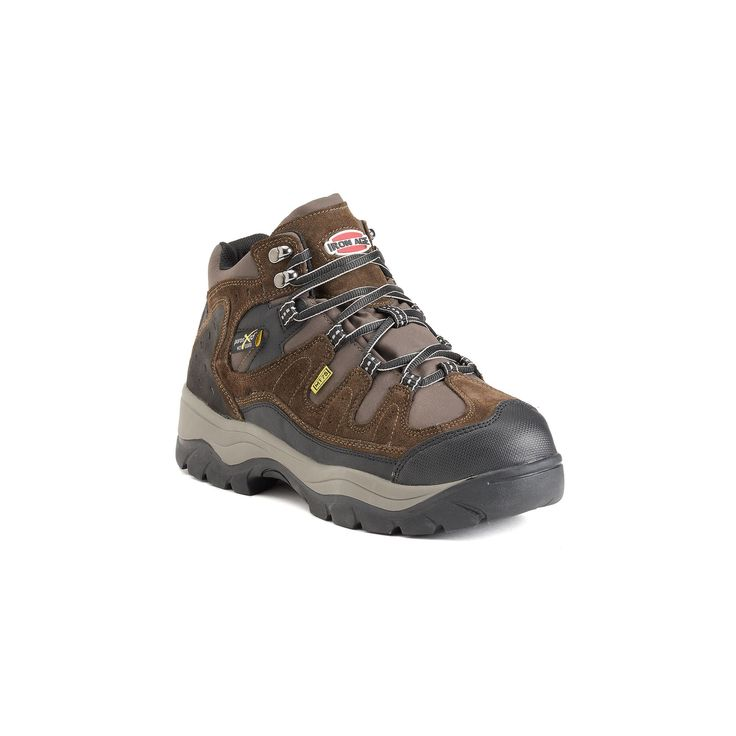Iron Age High Ridge Men's Steel Toe Work Boots, Size: medium (10.5), Brown