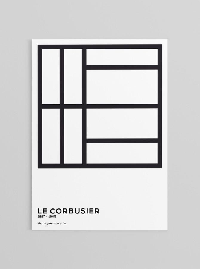 Le Corbusier | Typo Graphic