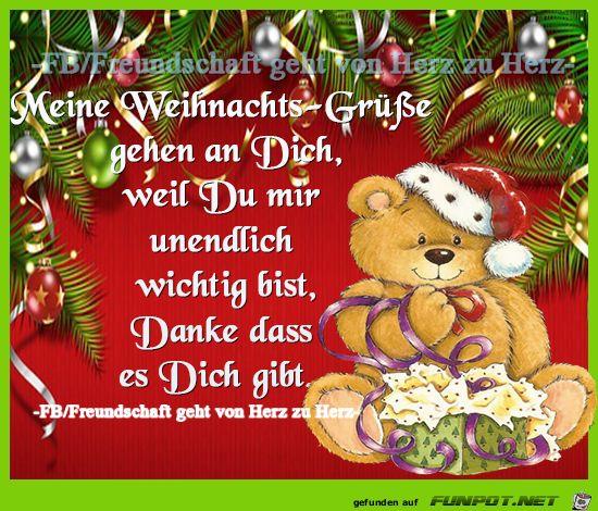 lustiges Bild 'Weihnachtsgruesse.png' von Floh. Eine von 822 Dateien in … – Monika Düresch
