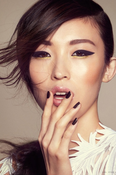 Fall Beauty Looks from Elle Vietnam September 2012