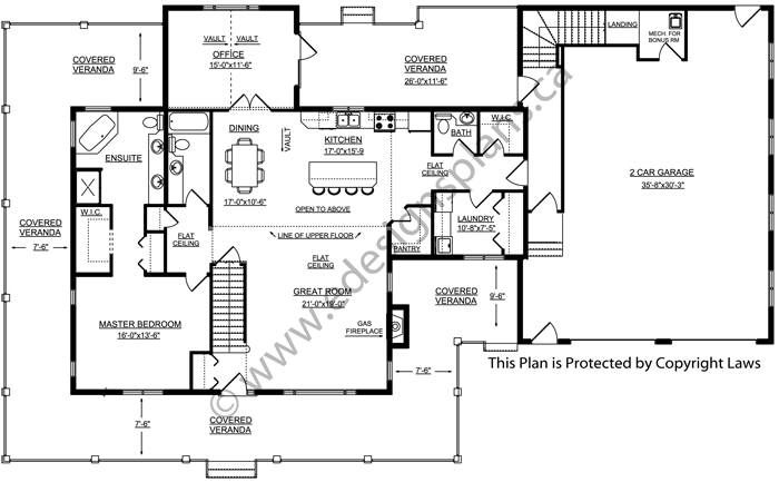 2 storey house plan 2013706 by house for Edesign plans