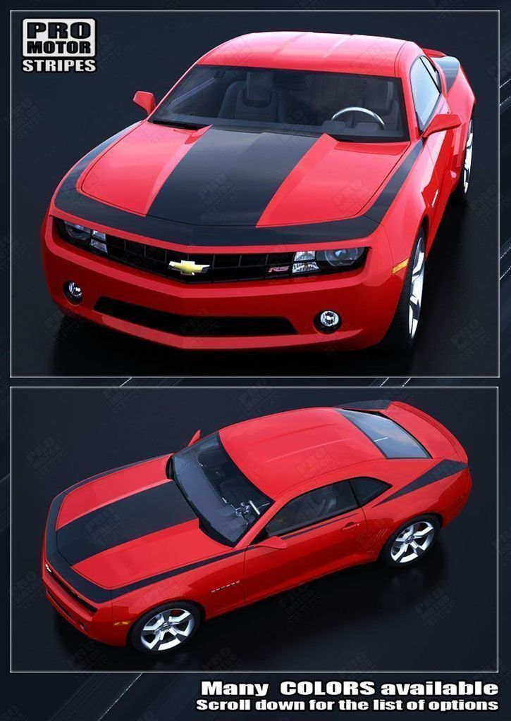 Chevrolet Camaro 2010-2015 Racing Speed Stripes Kit
