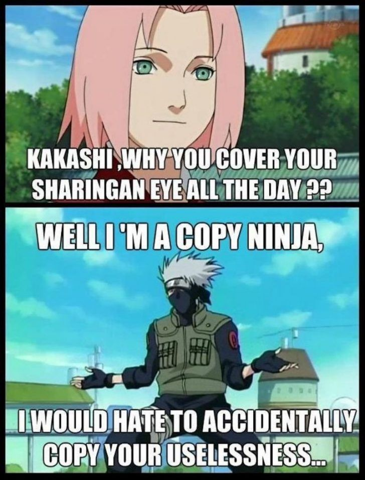 Naruto Memes That Are Hilarious And Funny Naruto Shippuden Funny Reddit Memes Funny Naruto Memes Naruto Funny Naruto Memes