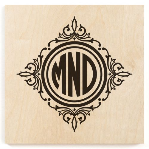 wood monogram machine