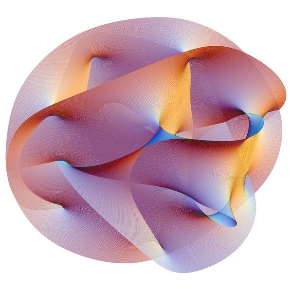 Opgevouwen dimensies snaartheorie