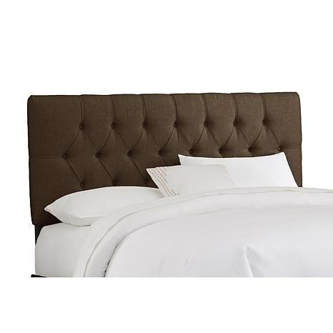 Linen Tufted Headboard - Queen