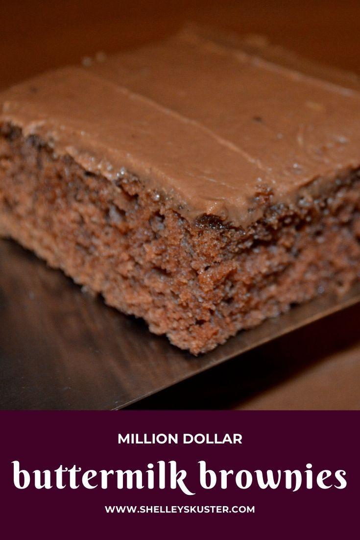 Million Dollar Chocolate Buttermilk Brownies In 2020 Buttermilk Brownies Recipes Buttermilk Brownies Buttermilk Recipes