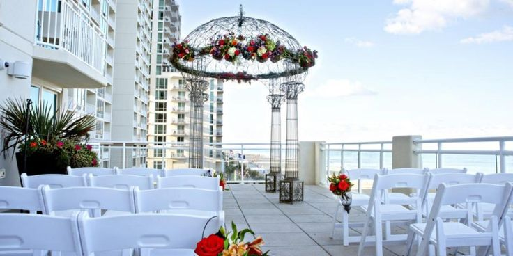 Hilton Garden Inn Virginia Beach Oceanfront Weddings | Get Prices for Virginia Beach Wedding Venues in Virginia Beach, VA