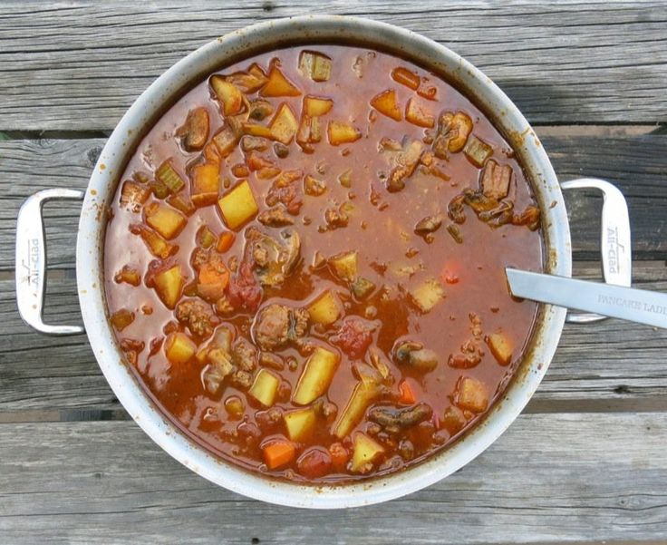 Bernice d'Entremont's Acadian family has been making and enjoying Harvest Hamburger Soup to celebrate the seasons in Pubnico, Nova Scotia, for years.