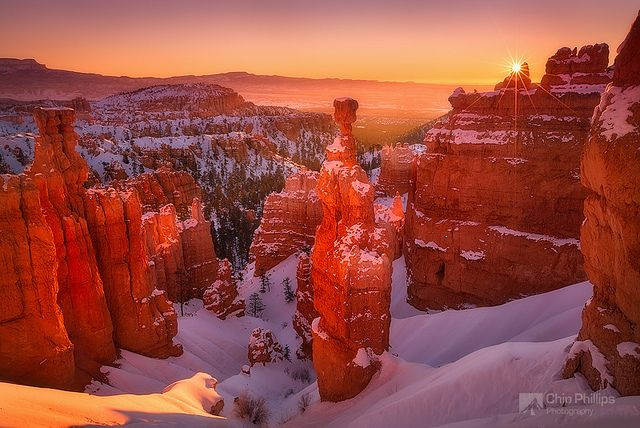 Bryce Canyon Sunrise by Chip Phillips, via Flickr