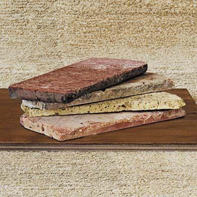 146 best images about bathroom wants on pinterest for Modern brick veneer