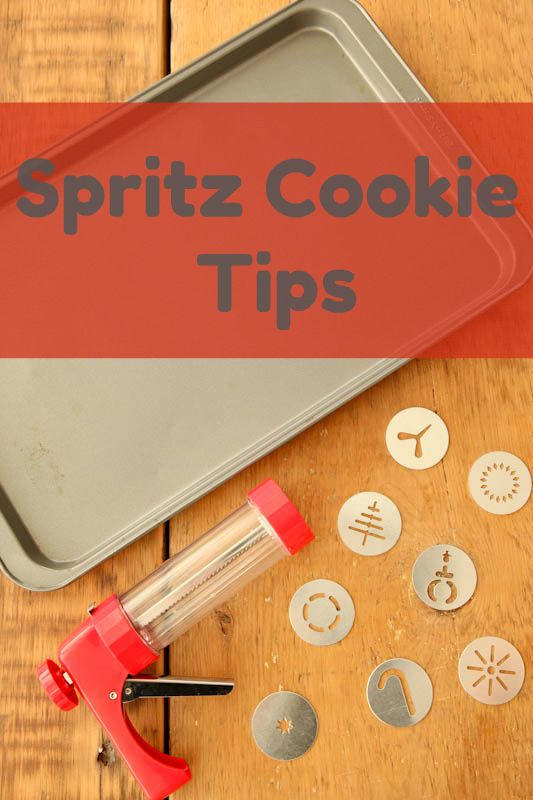 """3 essential tips for making perfect """"Spritz Cookies!"""""""