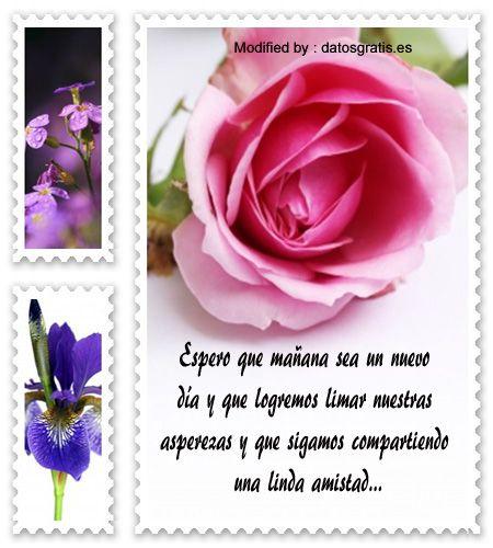 enviar mensajes de disculpas a mi amigo,palabras originales para pedir perdòn a mi amigo: http://www.datosgratis.net/bellos-mensajes-de-reflexion-para-personas-orgullosas/