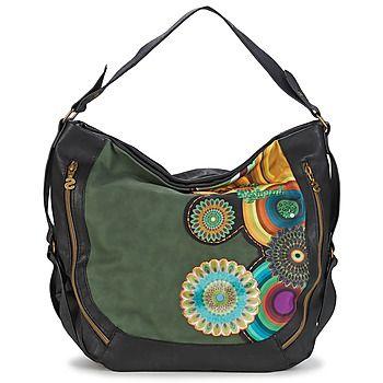 86,00 € Έθνικ, θηλυκή και πολύχρωμη, αυτή η τσάντα χειρός δεν χρειάζεται τίποτα άλλο για να σας αποδείξει τις δυνατότητές της. Αυή η δημιουργία Desigual φοριέται εύκολα στον ώμο χάρη στο ρυθμιζόμενο χερούλι της. Μας αρέσουν πολύ οι πολλές θήκες της Ύψος  32.0cm Φάρδος : 31.0cm Βάθος : 15.0cm Όγκος : 14.9 Βάρος : 0.6kg Εσωτερικές τσέπες με φερμουάρ Κλείσιμο με φερμουάρ Λαβή / ιμάντας ώμου αφαιρούμενος Εξωτερικές τσέπες με φερμουάρ : 2 Εσωτερική θήκη χωρίς κλείσιμο : 1 Χωρίσματα : 1