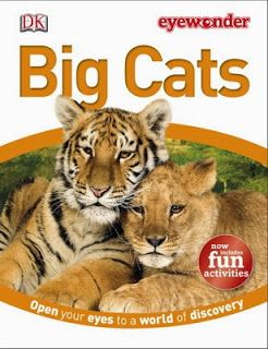 Glimpse: DK Discovery Day ~ Eye Wonder Big Cats ~ GIVEAWAY!