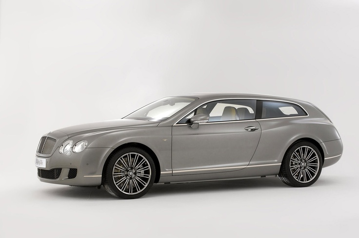 Bentley Flying Star Shooting Brake Was Designed By Touring