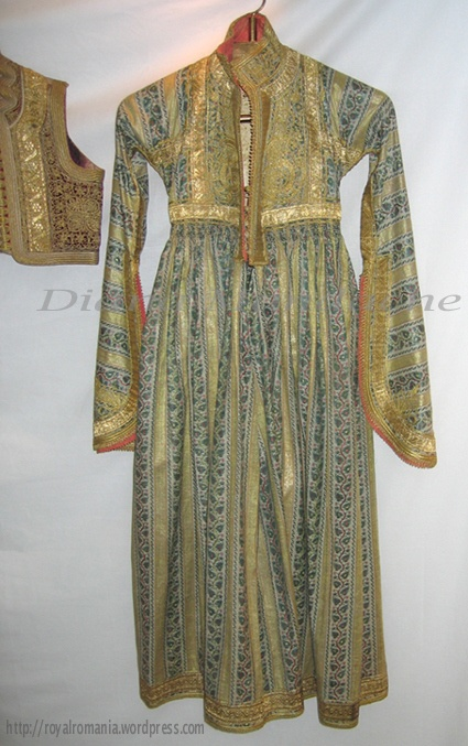 A Greek traditional dress of Helen of Greece (Queen-Mother of Romania) - Romanian Royal Family collection