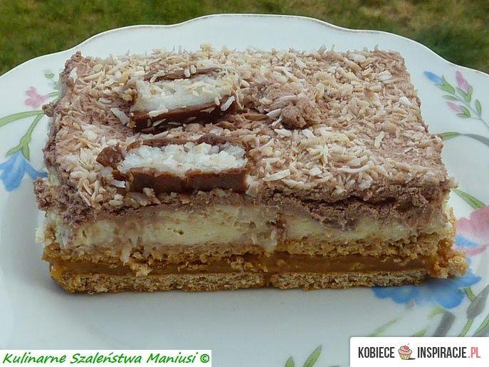 Ciasto kokosowe na zimno. http://kobieceinspiracje.pl/16502,ciasto-kokosowe-na-zimno.html