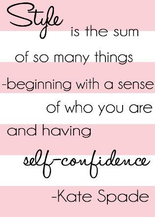 - Kate Spade #quote #wisdom #inspiration #advice #victoriaangela #katespade