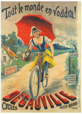 Bici d'epoca protagoniste di 12 bei poster vintage | #CICLOGRAFICA | #Bici #vintage #restaurate | #oldstyle #retro #bike #bicycle #velo #poster #illustration #graphics #type