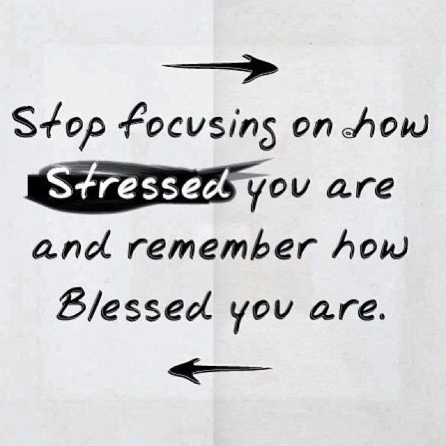 Deja de enfocarte en lo estresado que estás y recuerda lo afortunado que eres  #UmaLOV
