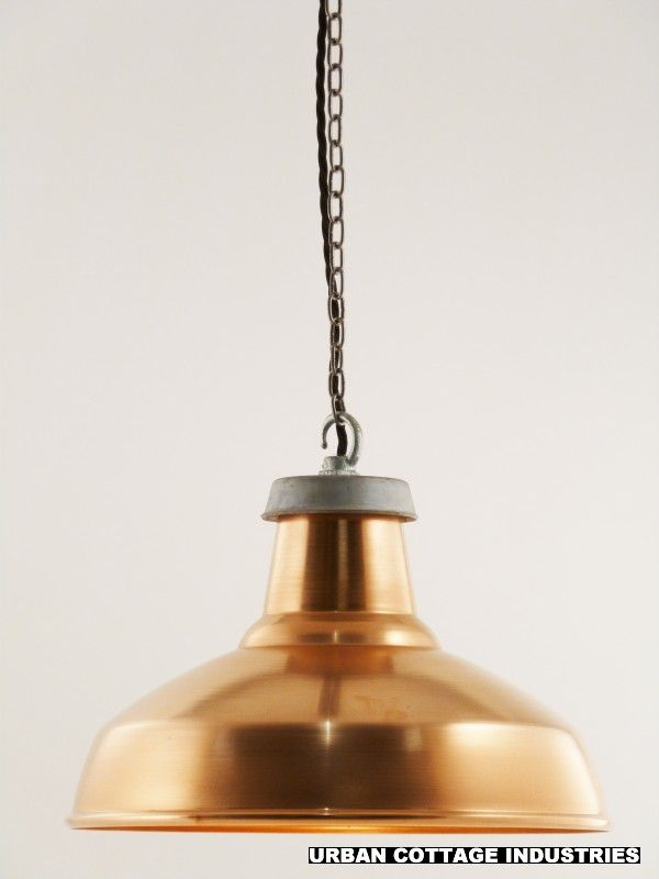 Factorylux copper light shade industrial lamp shades urban cottage industries